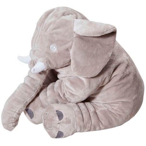 Almofada Elefante Cinza Buguinha - Bugababy -  BUP1778