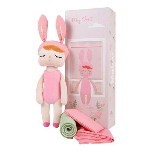 Boneca Angela Metoo Fashion com Caixa Closet - 33cm - BUP3238