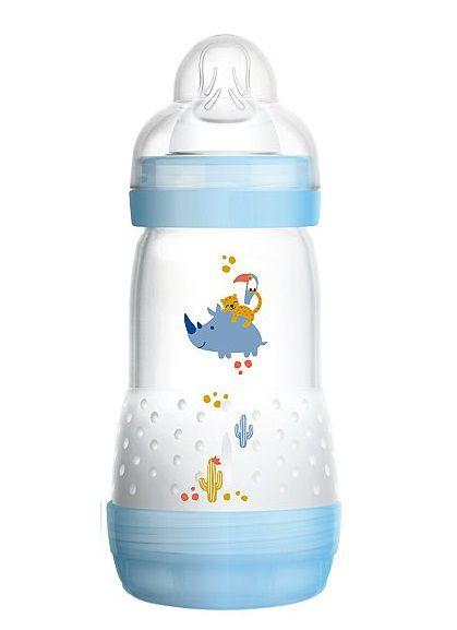 Mamadeira First Bottle Autoesterilizável MAM 260ml Azul - 4663RIAZ