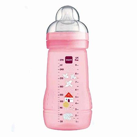 Mamadeira Easy Start / Fashion Bottle MAM 270ml Rosa - 4838RSPAS