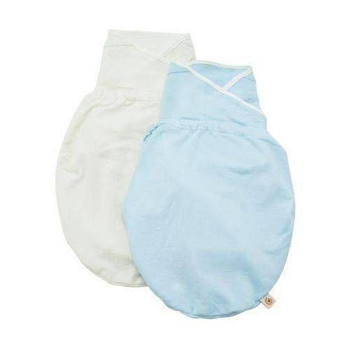 Cueiro Swaddler Azul Natural Ergobaby S/M  2 Unidades