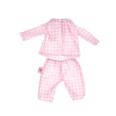 Roupa de Boneca Metoo - Pijama Rosa com Cabide - BUP3174