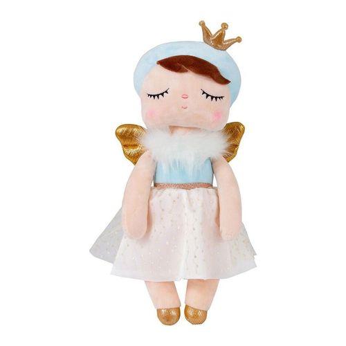 Boneca Angela Metoo Angel Azul 33cm - BUP3208