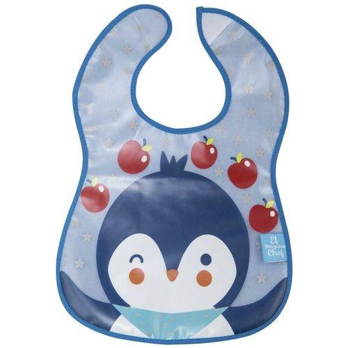 Babador Atoalhado Pinguim Girotondo Baby - BT1842