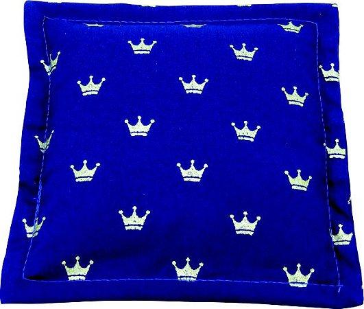 Bebê Almofada Coroa Azul - ALM09