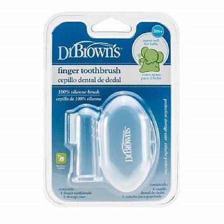 Dedeira Massageadora em Silicone com Estojo Dr Browns - D010