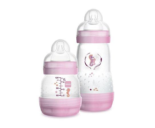 Mamadeira Mam Easy Start - Starter Set Rosa - 4694