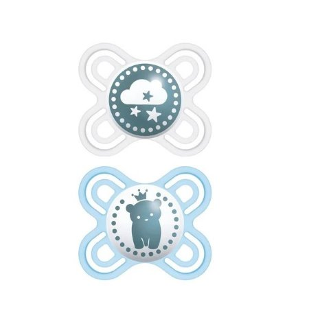 Chupeta Mam Perfect Start 0-2 Meses - Embalagem Dupla Azul - 2213