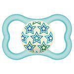 Chupeta Air Nigth Mam Azul Estrelas  (Boys 6+ Meses) - 2827AZCL