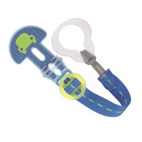 Prendedor De Chupeta Clip It! Mam - Boys - Azul Carro - 3131AZCAR