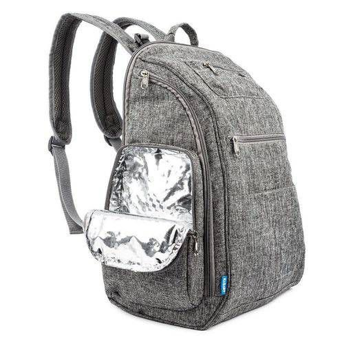 Mochila Backpack Cinza com Trocador Kababy - 16103C