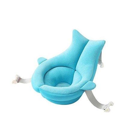 Almofada Ergonômica de Banho Azul Kababy - 22110A
