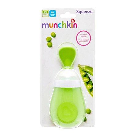Colher Dosadora Para Papinha Verde Munchkin - 02.15807B