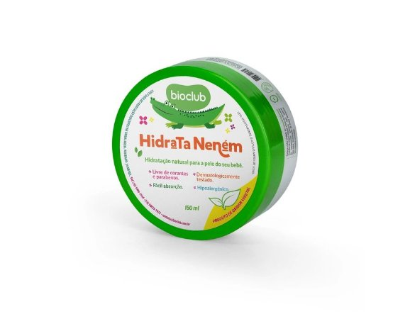 Hidratante Natural Infantil Bioclub - BIO00034