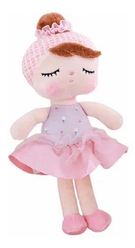 Boneca Metoo Lai Ballet Rosa Bup Baby 34cm - BUP3587