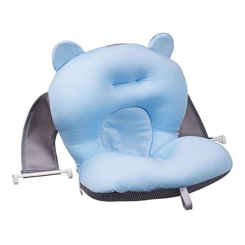 Almofada Para Banho Azul Baby  Bath - B21415