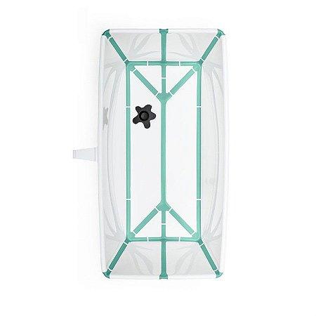 Banheira Flexível Verde Com  Plug Térmico Stokke - W531905