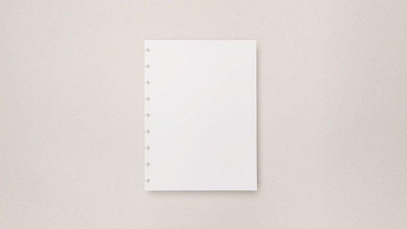 Refil Liso Médio - 120g | Caderno Inteligente