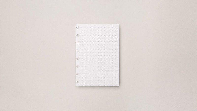 Refil Pontilhado - A5 | Caderno Inteligente