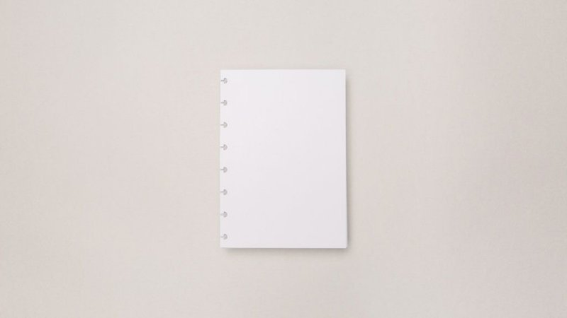 Refil Liso A5 - 120g | Caderno Inteligente