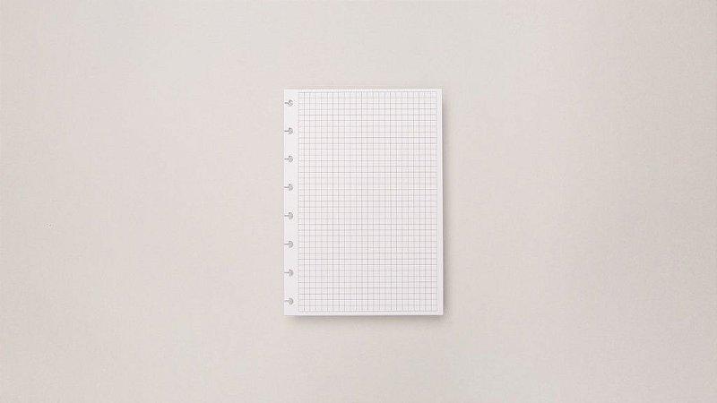 Refil Quadriculado A5 | Caderno Inteligente