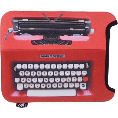 Capa para Ipad - Máquina de Escrever   Uatt?