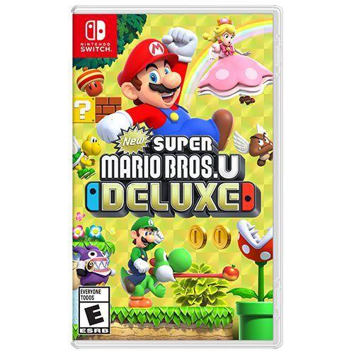 Game New Super Mario Bros U Deluxe - Switch