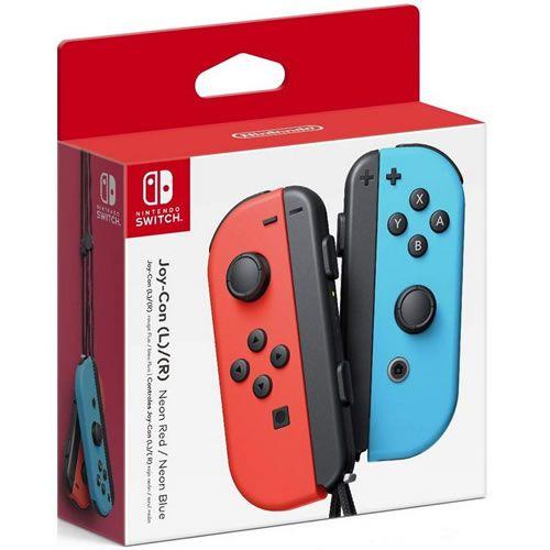 Controle Joy-Con L/R Neon Red / Neon Blue - Switch