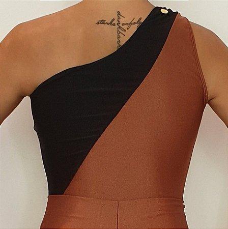 Body Ombro Bicolor Bronze