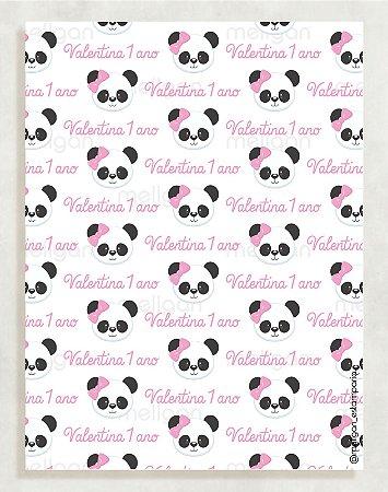Papel Crepom Infantil 12 - Panda - 30 unid