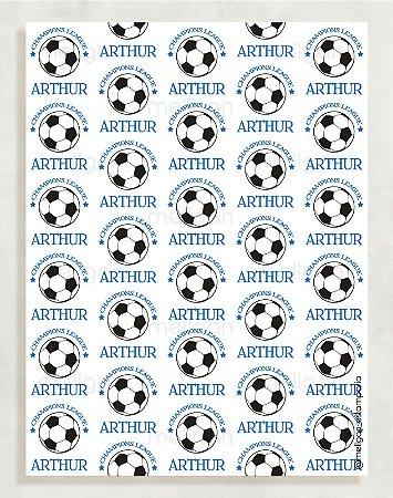 Papel Crepom Infantil 28 - Futebol - 30 unid