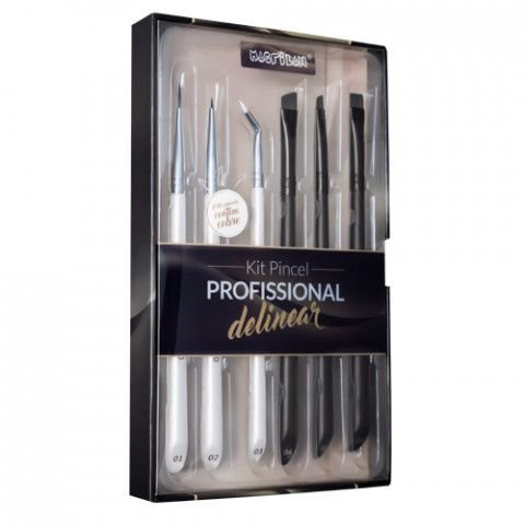 Kit Pincel Profissional Delinear Macrilan