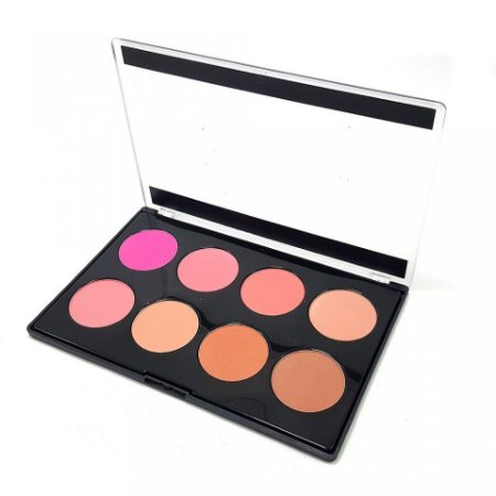Paleta de Blush 8 Cores New York Fenzza