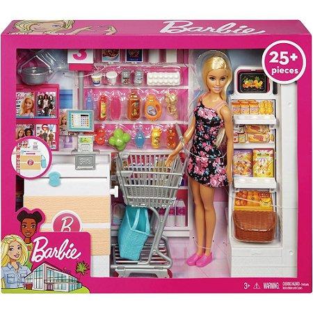 Supermercado De Luxo Da Barbie Mattel