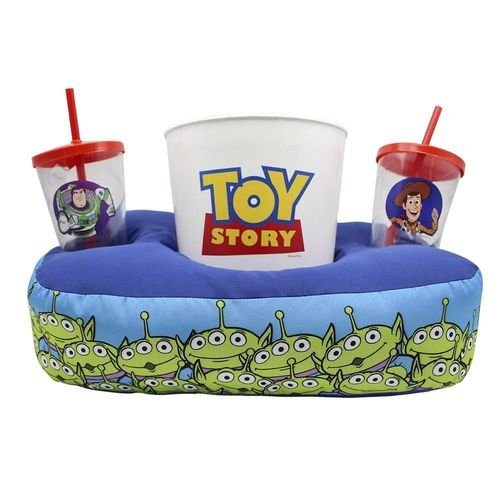 Kit Almofada  Zona Criativa Porta Pipoca Copos - Toy Story
