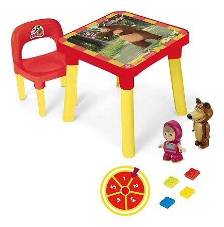 Mesinha Com Cadeira Masha e o Urso - Monte Líbano