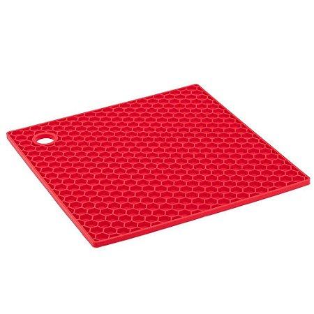 Descanso de Panela Silicone Quadrado 17 x 17 cm - Yangzi