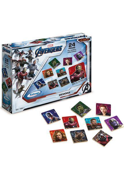 Jogo Memoria Avengers Assemble Xalingo