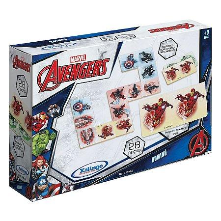Jogo De Dominó Avengers- Xalingo