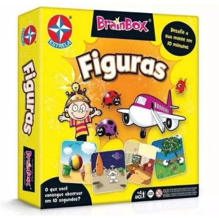 Jogo Brainbox Figuras Estrela