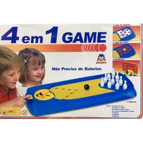 Jogo 4 Em 1 Game Braskit