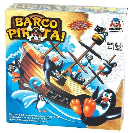 Jogo Barco Pirata Brinquedo Infantil - Braskit