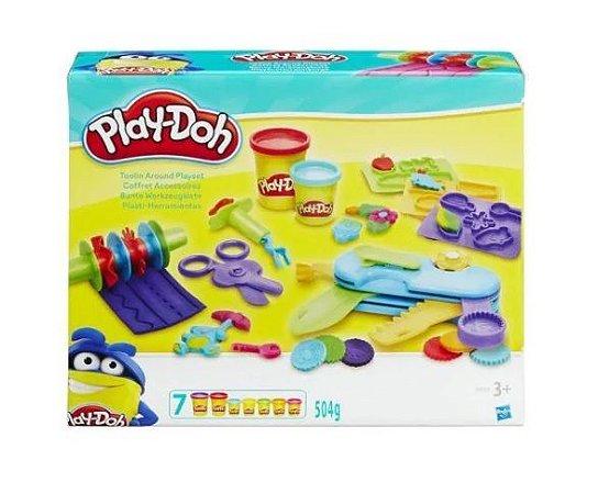 Play Doh Di Playset Multi Ferramentas - Hasbro
