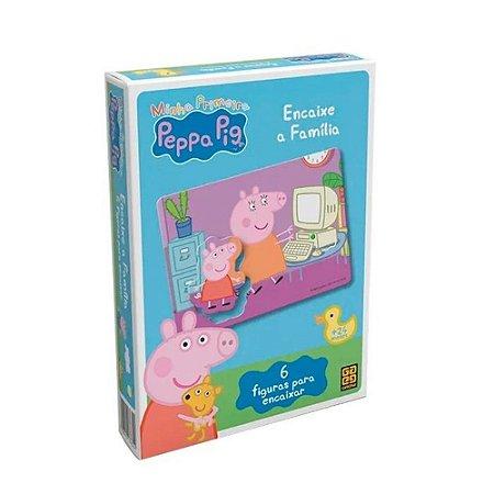 Jogo Encaixe a Família Peppa Pig - Grow