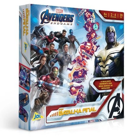 Jogo Batalha Final Disney Marvel Vingadores Ultimato Toyster