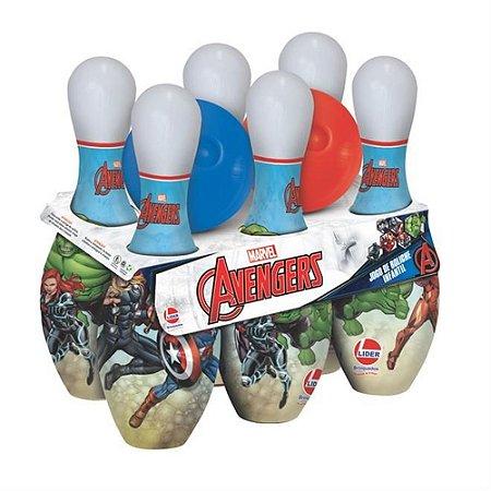 Jogo De Boliche Infantil Avengers - Líder