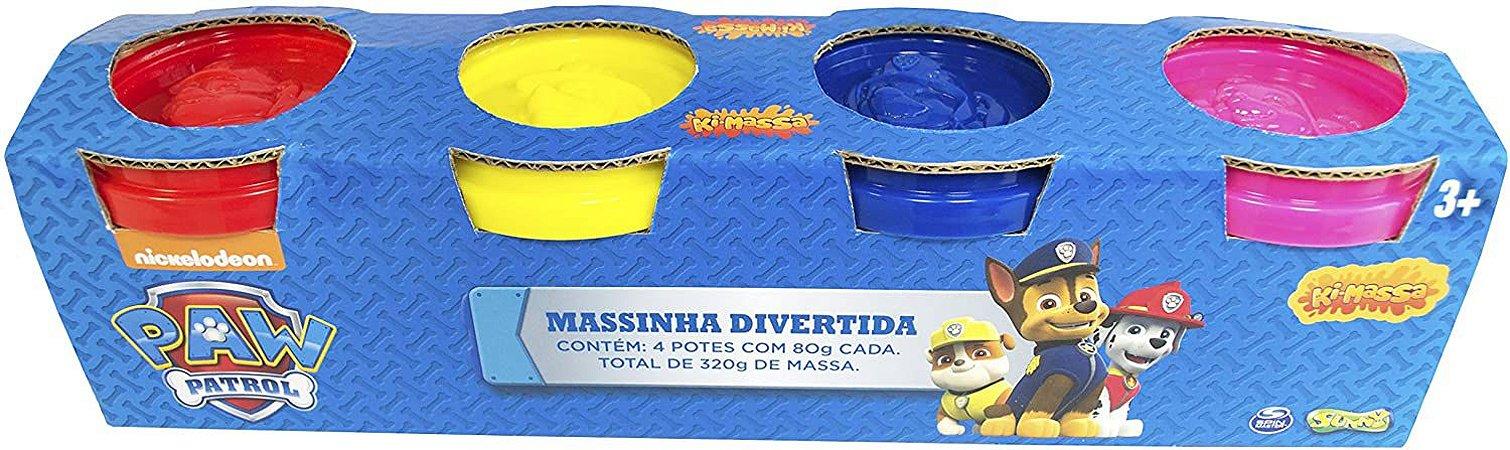 Patrulha Canina Massinha Divertida Sunny