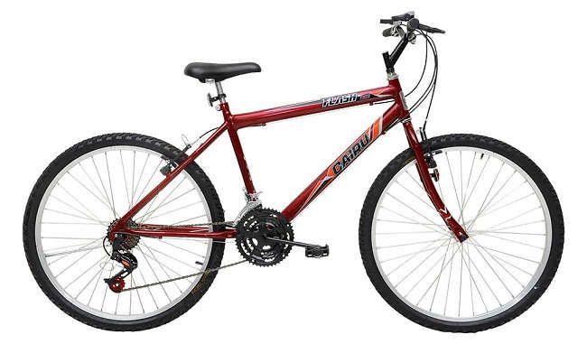 Bicicleta Cairu 24m MTB Vermelho