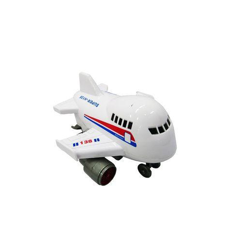 Carrinho  Fricção Metropolis Avião Rosita