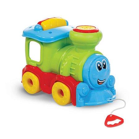 Brinquedo Trem João Fumaça Com Som - Maral